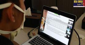 Lewat Video Conference, Bea Cukai Sumbagbar Optimalkan Pelayanan