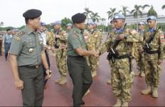 Panglima TNI Terima 175 Prajurit TNI Konga XX-L dari Kongo - JPNN.com
