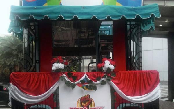 Di Balik Kisah Si Bandros, Bus Pengarak Juara Olimpiade Rio 2016 - JPNN.com