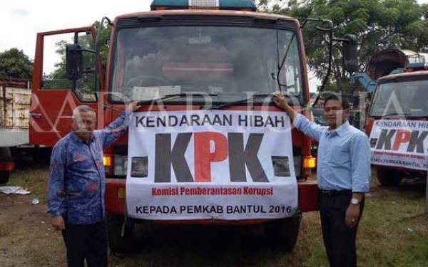 Damkar Sitaan KPK Jadi Barang Hibah untuk Daerah - JPNN.com