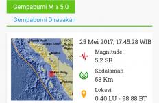 Mandailing Natal Kembali Diguncang Gempa 5,2 SR - JPNN.com