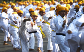 5.500 Karateka Raih Rekor MURI untuk Memeriahkan Haornas 2019 - JPNN.com