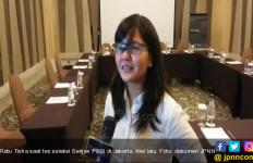 Tisha tak Terbendung Lagi Jadi Sekjen PSSI - JPNN.com