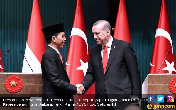 Presiden Erdogan: Brother Widodo Mengingatkan Saya - JPNN.com