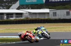 FP2 MotoGP Australia: Marquez Turun, Dovizioso Naik, Rossi? - JPNN.com