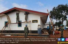 Satgas Garuda Renovasi Markas Tentara Kongo - JPNN.com