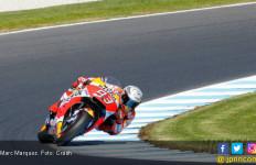 Marquez Start Terdepan di MotoGP Australia, Dovizioso ke-11 - JPNN.com