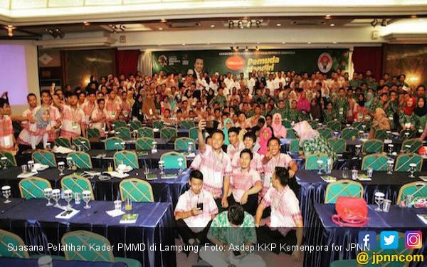 Ini Tantangan Melatih Kader PMMD Kemenpora - JPNN.com