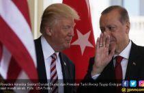 Takut Kena Sanksi, Erdogan Rayu Donald Trump - JPNN.com
