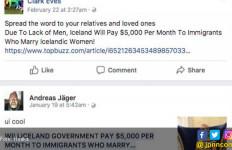 Menikahi Wanita Islandia Dijatah USD 5 Ribu per Bulan? Oh - JPNN.com