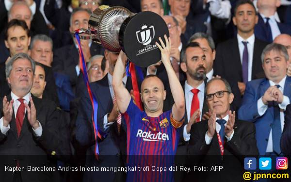 Cukur Sevilla, Barcelona Pertahankan Gelar Copa del Rey - JPNN.com