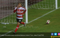 Sikap Cristian Gonzales Bikin Madura United Kecewa - JPNN.com