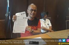 MU Tuntut Cristian Gonzales Rp 10 Miliar - JPNN.com