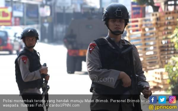 Empat Teroris Hendak Menuju Mako Brimob, Dor! Dor! - JPNN.com