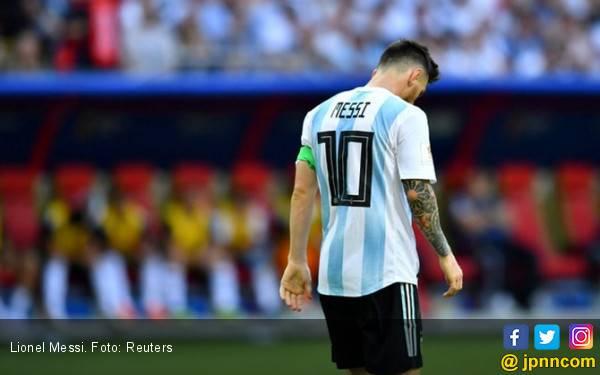 Fan Lionel Messi Bunuh Diri Setelah Argentina Tersingkir - JPNN.com