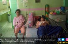 Disuntik Bidan, Bokong Adalia Malah Bengkak Sebesar Semangka - JPNN.com