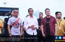 Kemeriahan WTF 2018, dari Dilan Sampai Jokowi - JPNN.com