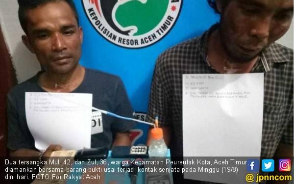 Polisi-Sindikat Narkoba Baku Tembak di Aceh Utara - JPNN.com
