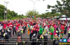 Festival Senam Lansia Meriahkan Perayaan Haornas di Tidore - JPNN.com