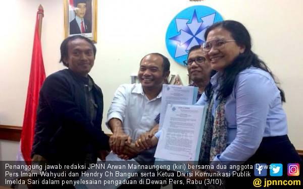 Pengumuman Pencabutan Berita Saduran Asia Sentinel - JPNN.com