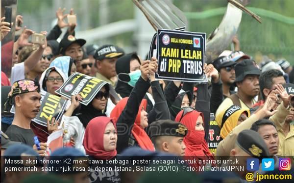 Honorer K2 Desak Passing Grade Kelulusan PPPK Diturunkan, Bisakah? - JPNN.com