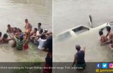 Dua Jasad Korban Mobil Taft Tenggelam di Sungai Wampu Ditemukan - JPNN.com