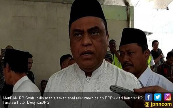 Pak MenPAN Pangkas Jam Kerja PNS Sejam per Hari Selama Ramadan - JPNN.com