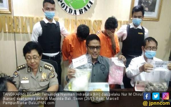 Polda Bali Beberkan Barang Bukti Hasil Tangkapan Besar - JPNN.com