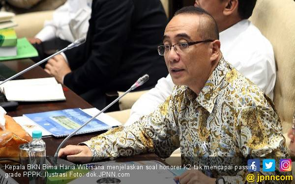 Simak Penjelasan Kepala BKN soal Honorer K2 tak Lolos Passing Grade PPPK - JPNN.com