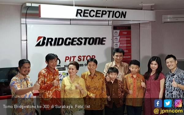 Resmi Dibuka, Tomo Bridgestone ke-300 Tebar Diskon - JPNN.com