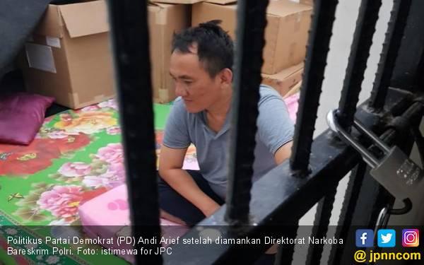 Lho, Kok Tes Urine Andi Arief di RSKO Negatif? - JPNN.com
