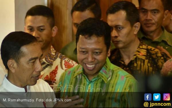 Jokowi dan Romahurmuziy Ibarat Sejoli yang Sulit Dipisahkan - JPNN.com