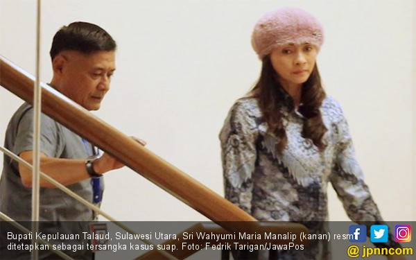 8 Hari Jelang Ultah, Bupati Talaud jadi Tersangka Suap - JPNN.com