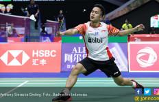 Setelah 66 Menit, Ginting Menyerah dari Kento Momota di Semifinal Sudirman Cup 2019 - JPNN.com