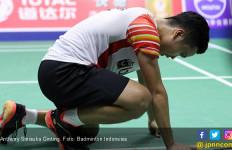 Sudirman Cup 2019: Penyesalan Ginting dan Lucky Ball Momota - JPNN.com