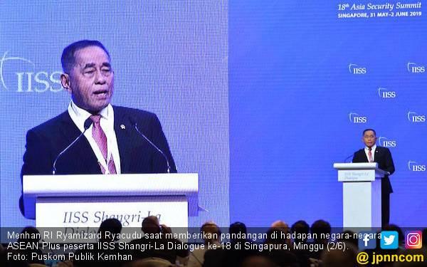 Menhan RI Sampaikan Pentingnya Stabilitas dan Keamanan Kawasan ASEAN - JPNN.com