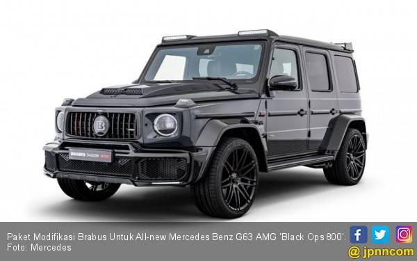 Paket Modifikasi Brabus Untuk All-new Mercedes Benz G63 AMG - JPNN.com
