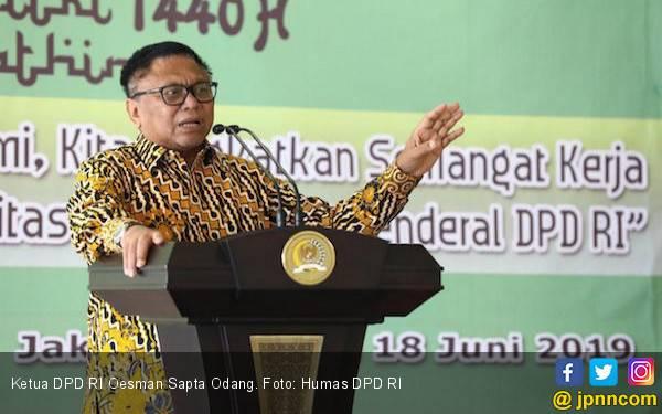 OSO: Terserah Presiden Jokowi, Saya Mendukung - JPNN.com