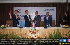 Tingkatkan Peluang Bisnis Konstruksi di Indonesia, Waskita Karya Gandeng HDEC - JPNN.com