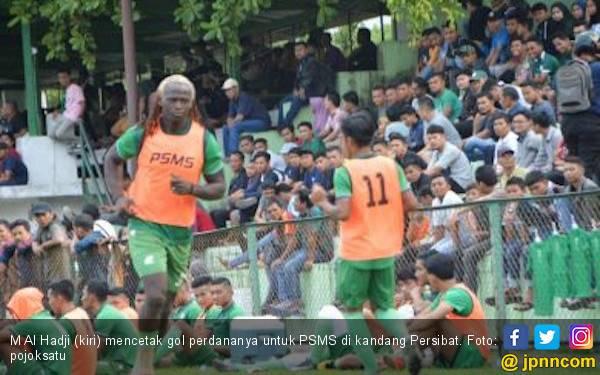 Didepak dari PSMS Medan, Al Hadji Klaim Diminati Enam Klub Lain - JPNN.com