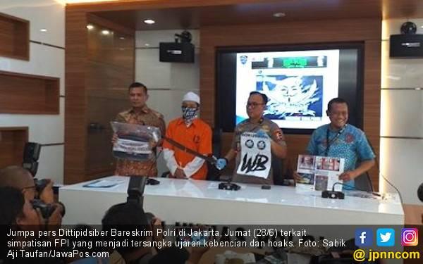 Respons FPI soal Anggotanya Dibekuk Polisi karena Hoaks dan Ujaran Kebencian - JPNN.com