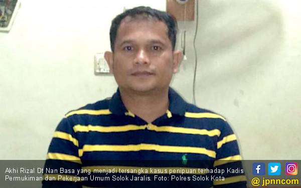 Ada Akhi Pakai Bukti Laporan di KPK untuk Tipu Kepala Dinas, Nih Tampangnya - JPNN.com