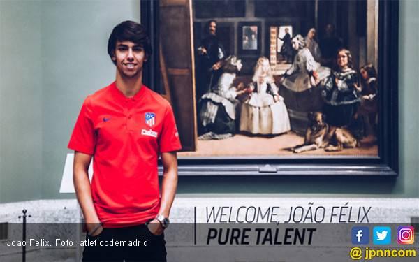 Joao Felix Kuat Tanggung Beban Nomor Keramat di Atletico Madrid? - JPNN.com