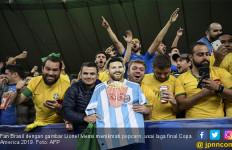 Bawa Brasil Juara Copa America 2019, Tite Titip Pesan Buat Lionel Messi - JPNN.com