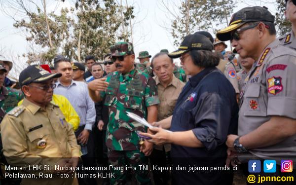 Siti Nurbaya: Kami Terus Kejar dan Tindak Tegas Penjahat Karhutla! - JPNN.com