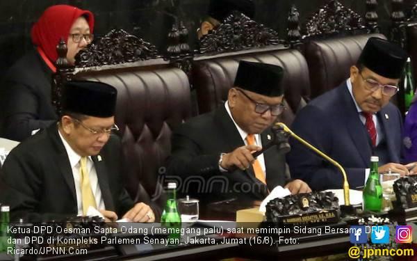 Bismillah… Oso Baca Teks Proklamasi, Muhadjir Kebagian Berdoa - JPNN.com