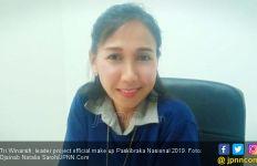 Tri Winarsih, Sosok di Balik Wajah Rupawan Paskibraka Nasional 2019 - JPNN.com