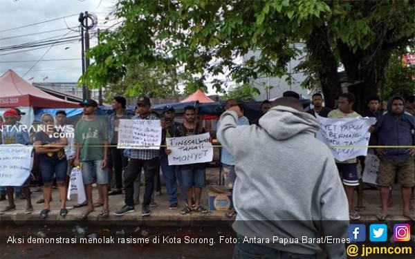 Tembakan Peringatan Menyalak di Kota Sorong - JPNN.com