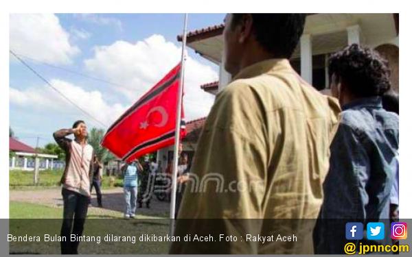 Polisi Kejar Pengibar Bendera Bulan Bintang di Aceh - JPNN.com