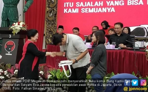 Dua Buku soal Bung Karno & Bu Mega dari Mas Nanan buat Wartawan - JPNN.com